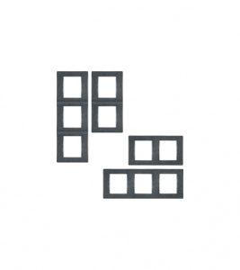 ALING-CONEL - Okvir dvostruki 65033.2