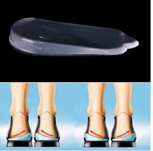 Silikonski ortopedski ulosci pete ravna stopala X noge