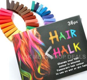 Privremena boja za kosu u kredama 36 boja