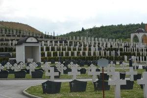 Grobno mjesto Bare Pravoslavni dio