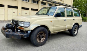 KUPUJEM Toyota Land Cruiser UDAREN OSTECEN NEISPRAVAN