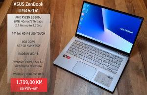 ASUS ZenBook UM462DA, Ryzen 5 3500U, 8GB, 512, VEGA 8
