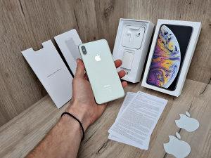 iPhone XS Max Silver 64GB NOVO!