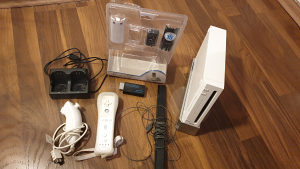 Nintendo Wii Dual Charger Wii2 HDMI converter
