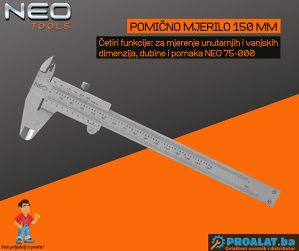 NEO Pomično mjerilo 150mm 75-000