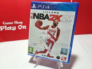 NBA 2K21 (Playstation 4 - PS4)