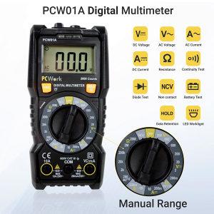 DIGITALNI MULTIMETAR CATIII 600V NCV PCW01A (028898)