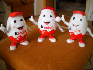 Kasa - kasica KINDER - KINDERINO - lot 3 komada