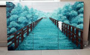Umjetničke slike u dijelovima (rucni rad)