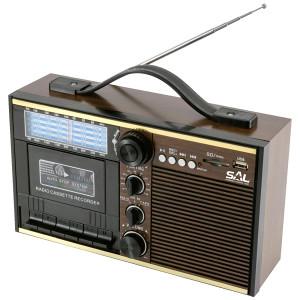 SAL Radio kazete prijemnik, Retro dizajn - RRT 11B