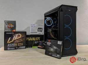 Racunar GAMING PC Ryzen 5 2600X/GTX 1650 Super/16GB/SSD
