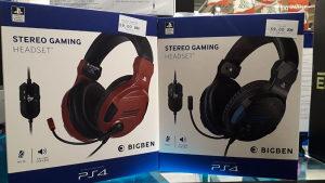 BigBen PS4 Stereo Gaming Headset V3