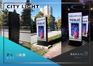 BELGRAND CITY LIGHT led displej reklama ekran bilbord