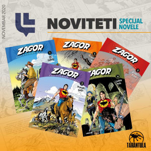 Zagor Darkwoodske novele / LIBELLUS