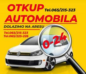 OTKUP VOZILA KUPUJEM AUTA AUTOMOBILA 0-24 065/215-323