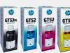 TINTA Hp Gt 53 & Gt 52 Tri-Color Ink Cartridge