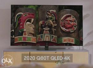 """Samsung 55Q80T 55"""" QLED Q80T 4K TV QE55Q80TATXXH Smart"""