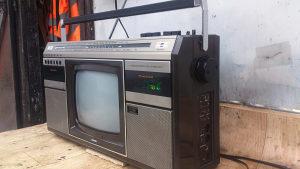 Philips kasetni rekorder + tv