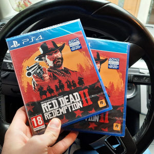 Red Dead Redemption II 2 PS4 Playstation 4 NOVO