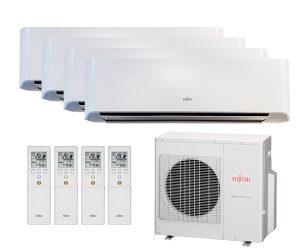Fujitsu QUAD inverter klima AOYG30LAT4 do 130m2