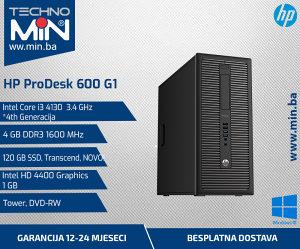 HP ProDesk 600 G1, i3 4130 3.4/4/120SSD/DVD-RW