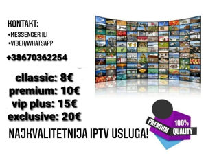 IPTV INTERNET TELEVIZIJA FULL HD 4K