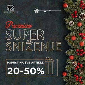 STRIPOVI / Praznični popusti 20-50%