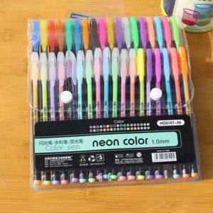 Set gel-olovki u boji