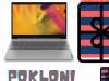Laptop Lenovo FullHD 15,6
