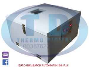 EURO Automatski Inkubator 96 jaja sa skenerom