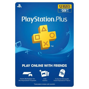 Playstation Plus PS PLUS PSN Wallet Gift card 4 PS4