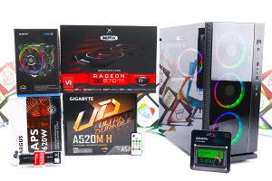 Gaming PC W-III 14; R3 3100; RX 570; 480GB SSD; 8GB