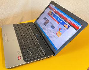 "Laptop HP 15.6"" dual-core 1.66 /160GB/4GB/IntelHD"