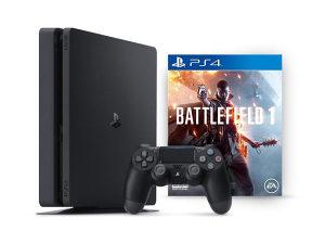 PlayStation 4 1000GB PS4 Slim 1 TB Battlefield 1