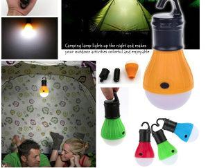 Sijalica lampa za kampiranje izlete planinarenje led