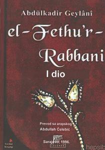 """""""El-fethur-Rabbani"""" Abdulkadir Gejlani 1 i 2"""