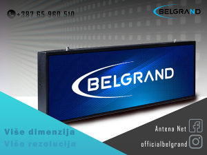 BELGRAND LED REKLAMA DISPLEJ