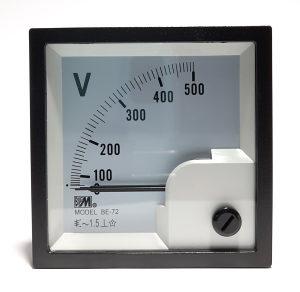 Voltmetar analogni 15VDC, 72x72mm