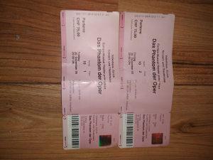 Dvije ulaznice za mjuzikl Fantom u operi