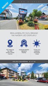 LED display reklamiranje