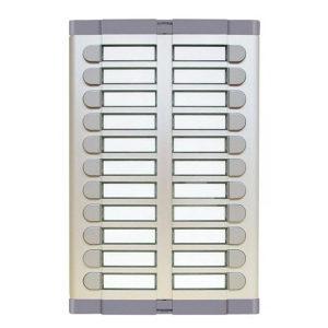 Tastatura 22 tipke bez mjesta za govorni dio 925/022, Urmet