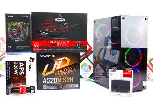 Gaming PC Legend 4; R5 3600x; RX 570; 240GB SSD; DDR4