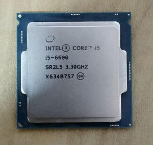 I5 6600 cpu intel