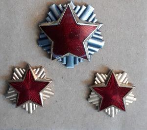 3 velike zvijezde petokrake