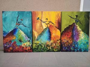 Umjetničke slike iz dijelova (rucni rad)