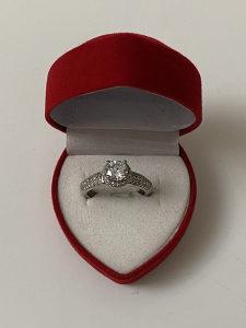 Prsten vjerenički srebro 925