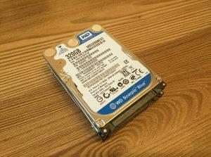 """HDD 320 GB 2.5"""" 100% Health"""