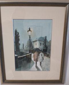 Umjetnička slika, autor češki student
