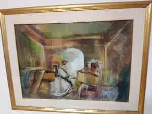Umjetnička slika, autor Borozan