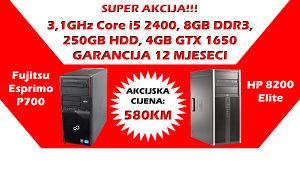 GAMING RAČUNAR Core i5, 8GB DDR, GTX 1650 4GB